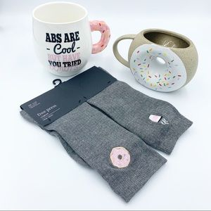 Donut Themed Coffee Mugs & Socks
